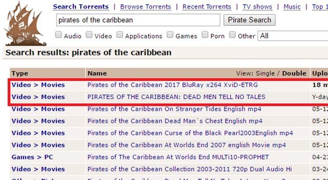 加勒比海盗5 死无对证 BT海盗湾
