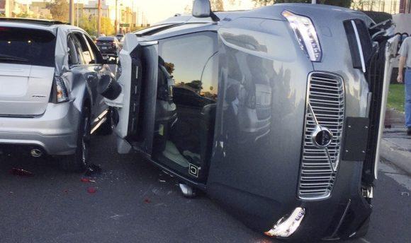Uber自动驾驶汽车事故
