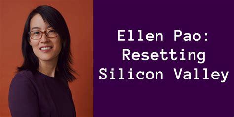 Ellen Pao reset 重启硅谷