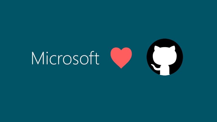 微软收购github