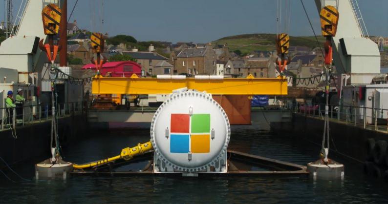 微软海底水下数据中心