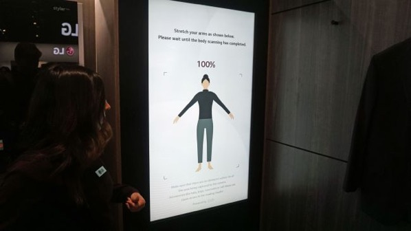 LG智能镜子