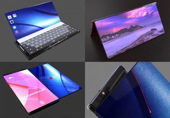 LG柔性屏手机
