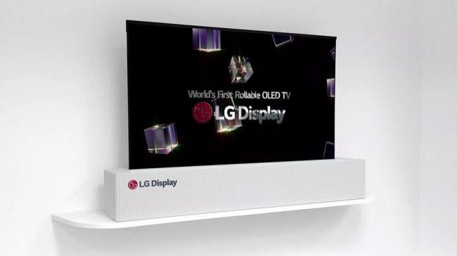 LG OLED柔性屏电视
