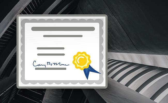 数字安全证书