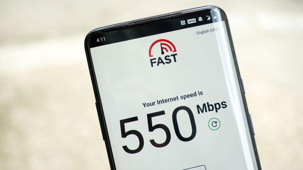 5G下载速度